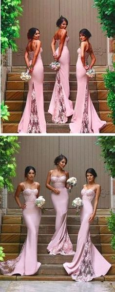 2016 New Design Online Sexy Mermaid Sweet Heart Lace Long Bridesmaid Dresses, WG08