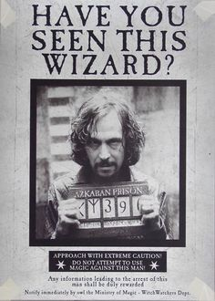 Sirius Black Wanted Poster