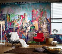 Graffiti themed interiors - The Design Sheppard - Rounding up the very best in interior design today