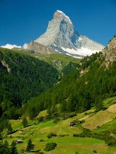 Matterhorn, o Cervino. Es la montaña más fotografiada del mundo. Y no nos extraña.