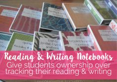 Reading & Writing Notebooks