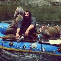 Thorin in a boat. You're welcome.