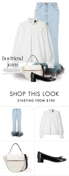 """""""Feb 19th (tfp) 5202"""" by boxthoughts ❤ liked on Polyvore featuring Prada, Needle & Thread, Wandler, Repetto and tfp"""