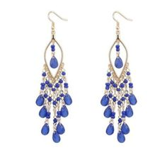 Crystal Charm Bohemian Drop Earrings
