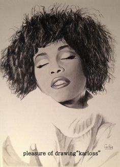 Whitney Houston by Karloss
