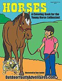 Horses Coloring Book | ChickSaddlery.com