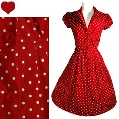 Ok here is an idea that I'm not sure you will like, but your bridesmaids could wear a vintage red polka dot dress like this one and accessorize with pearls, a black hat and lace gloves.  Since you were thinking of making the groom more casual I think this could be a fitting idea.  Also Forever 21 sells dresses like this one for about 25 dollars.  It would go with your retro theme and save cost.  Let me know what you think.  Plus it goes with your ruby color scheme.  I don't know just an…