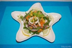 Insalata di calamari, scopri la ricetta: http://www.misya.info/ricetta/insalata-di-calamari.htm