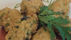 Torrejitas de verdura con quinoa
