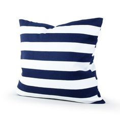 Lavievert Decorative Canvas Square Throw Pillow Cover Cushion Case Navy Blue Stripe Toss Pillowcase with Hidden Zipper Closure 18 X 18 Inches (For Living Room, Sofa, Etc) Lavievert,http://www.amazon.com/dp/B00CO2S7JS/ref=cm_sw_r_pi_dp_kETIsb1PYSV4X0H3