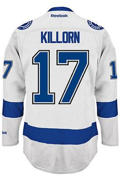 43258900bf4 Alex Killorn Tampa Bay Lightning NHL Away Reebok Premier Hockey Jersey