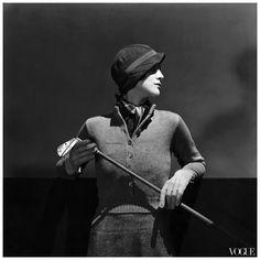 Photo George Hoyningen-Huene - La golfista Daphne de Levis Prizer posa per Vogue en 1932 Condè Nast Archive