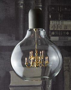 King Edison Chandelier Light Bulb Pendant Lamp   £480.00 Nice Ideas