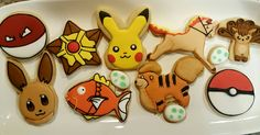 Pokemon cookies by VR