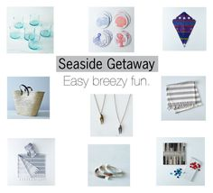 """""""Seaside Getaway"""" by food52 ❤ liked on Polyvore featuring interior, interiors, interior design, home, home decor and interior decorating"""