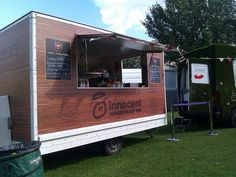 innocent's pop-up food stall near Brick Lane