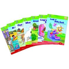 LeapFrog Tag Learn to Read Book Set 3 - Consonants