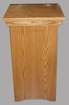 Wooden Amish Trash Cans/bins U0026 Amish Wooden Laundry Bins  Handmade Ohio  Amish.