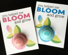 Under A Cherry Tree: Angela Sgro's EOS Lip Balm holders for Teacher Appreciation Week