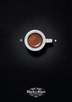 Les boutons de réglage caféinés de Black&Blaze