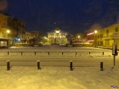 Photos de la Vésubie - Sous la neige... les pavés...