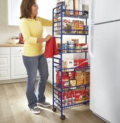 Metal Thinman Pantry Great Storage Solution For A Small Kitchen Ginnys.com  Choose From Three