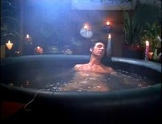 One of the only scenes of Kramer's apartment in Seinfeld is the infamous hot tub that he installed in his living room (and subsequently shorted out the power)