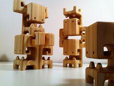 Spruce Wood Designer Toys by Pepe Hiller