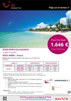 Oferta Isla MAURICIO - Hotel Ambre. Precio final desde 1.646€ - http://zocotours.com/oferta-isla-mauricio-hotel-ambre-precio-final-desde-1-646e/