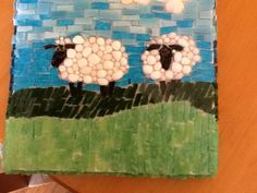sheep mosaic - Google Search