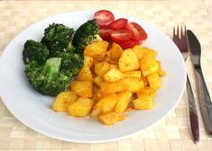 Brokolica jednoducho a chutne, Zdravé recepty, Delená strava - recepty, recept | Naničmama.sk Diet Dinner Recipes, Diet Menu, Lunch Recipes, Healthy Recipes, Protein Veggie Meals, Vegetable Recipes, Chicken Recipes, High Fiber Foods, Good Foods To Eat