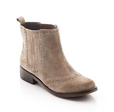 Spring Suede Flat Bootie