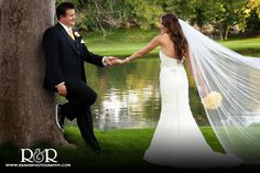 love this pic! The veil looks awesome in it!
