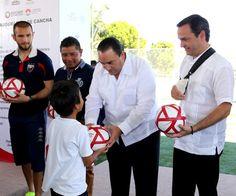 Con nueva infraestructura deportiva en Benito Juárez, La administración actual 2013-2016, con el apoyo del estado y feredarion, cumplimos a la ciudadanía en materia de rescate de espacios públicos, prevención social y fomento de una vida activa