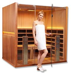 Clearlight Sanctuary Y Full-Spectrum Infrared Sauna and Hot Yoga Room