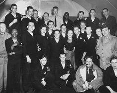 USO visit - group photo. USO Camps Shows, Inc. - Alaska, WWII | Flickr.com - alexaleutians