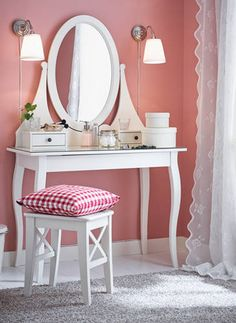 US Furniture and Home Furnishings in 2019 Ikea dressing table, Home, Room decor Completing Bedroom Sets with Vanity Table IKEA Trend Home. Decor, Furnishings, Bedroom Vanity, Vanity, Furniture, Interior, Home Decor, Home Furnishings, Room Decor