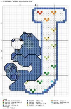 alfabeto degli orsetti del cuore: J