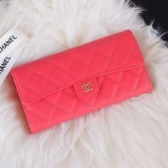 Chanel A80758-15 Quilted Long Flap Wallet