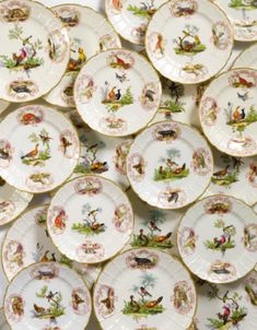 A SAMSON PORCELAIN ZOOLOGICAL PART DINNER SERVICE LATE 19TH CENTURY - Sotheby's