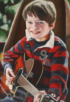 Conor - Charity Commissions Musical Instruments, Charity, Musicals, Paintings, Music Instruments, Paint, Painting Art, Instruments, Painting