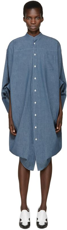 Junya Watanabe Indigo Denim Dress | SSENSE saved by #ShoppingIS