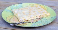 Hämmentäjä: Mom's vanilla and rhubarb pie. Äidin vaniljainen raparperipiirakka