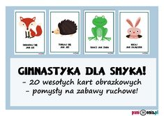 Zabawy ruchowe w przedszkolu - karty obrazkowe i inspiracje Activities For Kids, Crafts For Kids, Preschool Ideas, West Memphis, Hand Therapy, Ppr, Beauty Trends, Kids And Parenting, Kids Learning