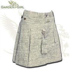 GardenGirl Skort in Toile