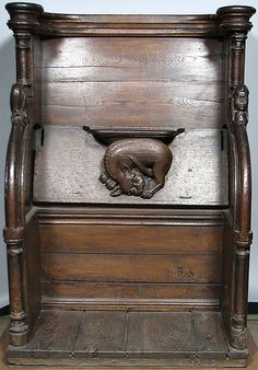 Choir Stall, 15th century, French, oak
