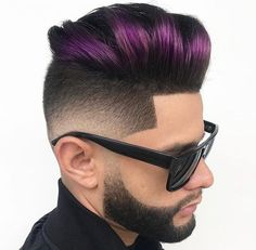 Pompadour Haircuts - The pomp is a classic men's hairstyle that never goes out of style. That's because it looks so good and there are a plenty of pompadour haircuts to choose from. Here are 21 different ways Classic Mens Hairstyles, Mens Hairstyles Pompadour, Cool Hairstyles For Men, Boy Hairstyles, 1940s Hairstyles, Wedding Hairstyles, Modern Haircuts, Trendy Haircuts, Haircuts For Men