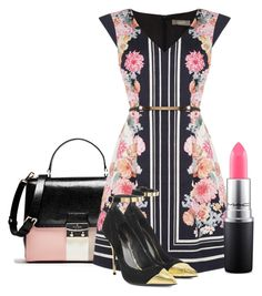 """""""237. Stylish summer"""" by kristina-lindstrom ❤ liked on Polyvore featuring Oasis, MAC Cosmetics and Balmain"""