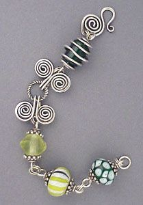 cool summer fun wire bracelet...