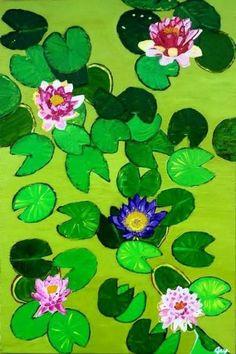 "Saatchi Art Artist Martina Gasp; Painting, ""Lotus flower IV"" #art Lotus Flower, Saatchi Art, Art Prints, Artist, Flowers, Painting, Art Impressions, Painting Art, Paintings"